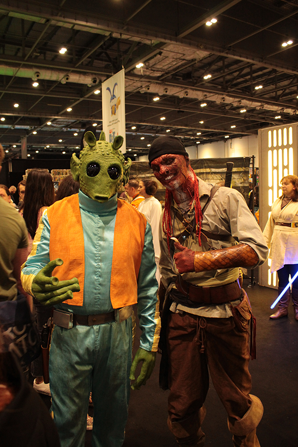 Breed meets Greedo from star wars