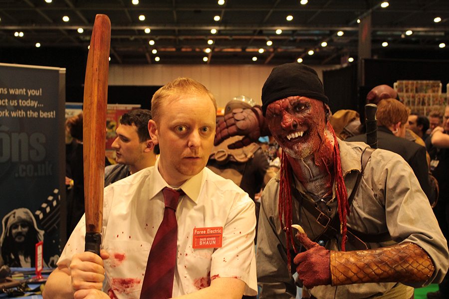 Breed Meets Shaun from Shaun of the Dead